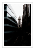 St Mary Somerset Tower - 5 X 7.5 inches